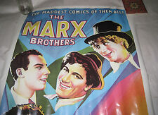 Vtg Poster The Marks Brothers in Animal Crackers Portal Publications Ltd 20x28