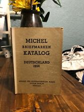 Michel Briefmarken Katalog Deutschland 1956 (1956 Softcover)