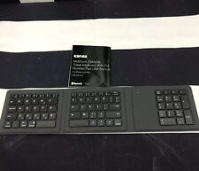 Kanex MultiSync Bluetooth Foldable Travel Keyboard W/ Number Pad NO USB CABLE
