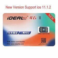 Phones Smart Ic Sim Card Sticker Ideal 4G â…¡ Perfect Unlock Turbo For Iphone