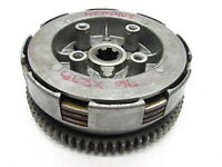1976 HONDA 76 XR75 XR 75 - ENGINE CLUTCH OUTER BASKET AND PLATES