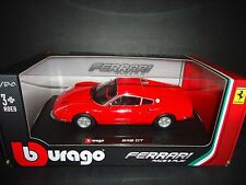 Bburago Ferrari Dino 246 GT ROJO 1/24