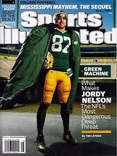 New Sports Illustrated Jordy Nelson Green Bay Packers 12/1/14 2014 No Label