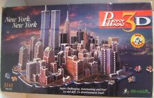 New York Puzz 3D 1997 Wrebbit 3141 Piece Puzzle - Unsure If Complete