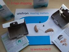 2 x unitron (PHONAK) Quantum2 hearing aids Professional Digital model