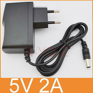 AC Switching power supply DC 5V 2A Adapter 2000mA Charger EU plug 5.5mm x 2.1mm