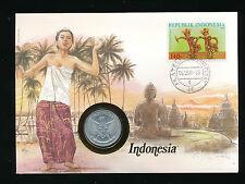Numis-Brief 1987 aus Indonesien   (B18)