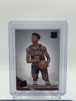 2019-20 Panini Clearly Donruss DeAndre Hunter Rated Rookie Rookie Acetate Hawks