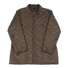 BARBOUR Quilted Jacket | Insulated Padded Coat Vintage Cord Collar