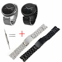 Premium Stainless Steel Watch Band Strap For Motorola Moto 360 1st Generation US
