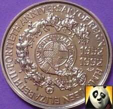1992 SAMOA 1$ 1 TALA COIN H.M. QUEEN ELIZABETH 40th ANNIVERSARY OF REIGN