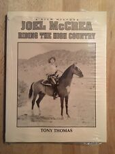 Joel McCrea - Tony Thomas - 1991 (en anglais) - NEUF