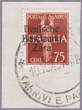 Zara Mi.Nr. 25 gestempelt mit Fotoattest Brunel VP
