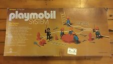 Vintage Playmobil Fireman Fire Fighters Deluxe set in box rare