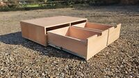 Van Double Draw Unit Storage Tool Draw Heavy Duty 45KG 100% Ex 1000x600x250