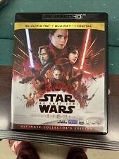 New ListingStar Wars: The Last Jedi (4K Ultra Hd, Blu-ray Disc, Bonus Disc 2018