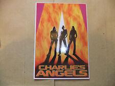 CHARLIE'S ANGELS DVD POSTCARD TRADING CARD DIAZ BARRYMORE LIU MOVIE UK EXCLUSIVE
