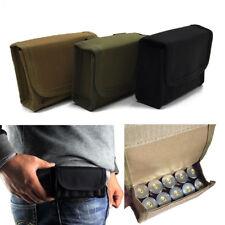 Portable Tactical MOLLE Rifle Ammo Pouch Bullet Shootgun Bag Holster Holder