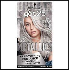 Schwarzkopf Got2b Metallics Permanent Hair Color Dye M71 Metallic Silver