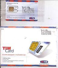 SIM CARD TIM TESSERA TELEFONICA TELECOM NON ATTIVABILE SCADUTA COLLEZIONE VINTAG