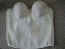 New 34E Ava Fantasie basque ivory strapless detachable straps some yellowing
