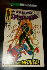 AMAZING SPIDERMAN # 62  KEY! TOP SHELF!  7.5+ C PHOTOS!