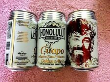 New Empty Honolulu Beerworks El Guapo Golden Ale Craft Beer 12 oz Can Hawaii