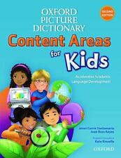 Oxford Picture Dictionary Content Area for Kids English Dictionary [Diccionario
