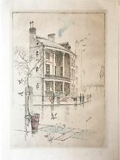 Set of 2 Charles Mielatz Etching