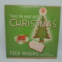 "''Twas The Night Before Christmas Fred Waring VTG Decca 5021 LP 10"" Record VG"