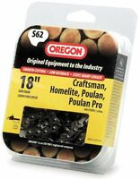 Oregon S62 18-Inch Semi Chisel Chain Saw Chain Fits Craftsman, Homelite, Poulan