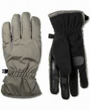 Isotoner Men Gloves Black US Size Large L Everyday Smart Touch Insulated $38 239