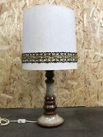 60er 70er Jahre Lampe Leuchte Tischlampe Tischleuchte Keramik Space Age Design