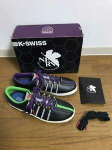 K SWISS EVANGELION Sneakers Black Men 10in/28.0cm