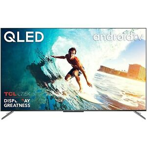 """Refurbished TCL 65"""" 4K Ultra HD with HDR10+ QLED Smart TV without Stand"""