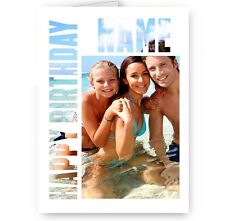 Personalised Photo & Name A5 Special Birthday All Occasion Card