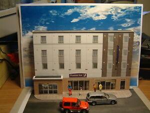 Low Relief Premier Inn Motel  Self Assembly Card Kit .