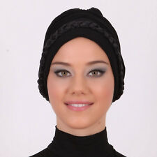 US Seller! NEW Fancy Bonnet Cancer Chemo Hijab Turban Cap Beanie many Colors