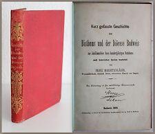 Mardetschlaeger historia el Bisthums und der Dioecese Budweis 1885 República