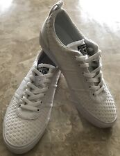 Converse Sneakers Match Point Ox White Weave Lace Up Trainers Womens 9.5 Mens 8
