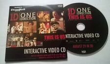 ONE DIRECTION * THIS IS US INTERACTIVE VIDEO CD * IRISH PROMO CARD CASE