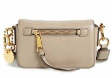 NWT!! Marc Jacobs Recruit Leather Crossbody Bag $295 Mink Original Packaging