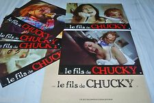 Child's Play 4 LE FILS DE CHUCKY  ! rare  jeu 6 photos cinema lobby cards