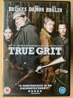 True Grit Blu-ray 2010 Coen Brothers Western Remake Classic w/ Jeff Bridges