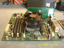 Dell Motherboard 0T568R w/Core i7 860, Heatsink/Fan, 8GB Ram, Video Card, I/O