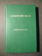 REARDON FAMILY HISTORY County Tipperary to St. Croix County, Wisconsin Childs