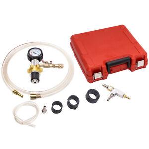 Cooling System Pressure Radiator Refill Purge Universal Tools Kit Cooler