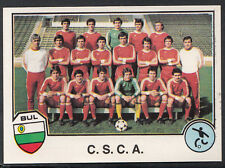 Panini Sport Superstars Euro Football 1982 - Sticker No 140 - C.S.C.A