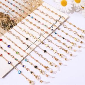 Women Glasses Lanyard Rope Glasses Strap Metal Mask Chain Lanyard Holder Hanging