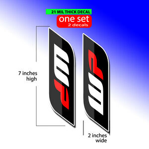 02- 14 YZ 85 WP FORK TUBE DECALS GRAPHICS MOTOCROSS DIRT BIKE STICKERS
